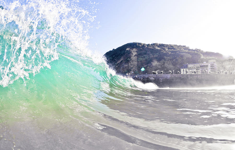 Sandy Wave Photograph by Ianmcdonnell