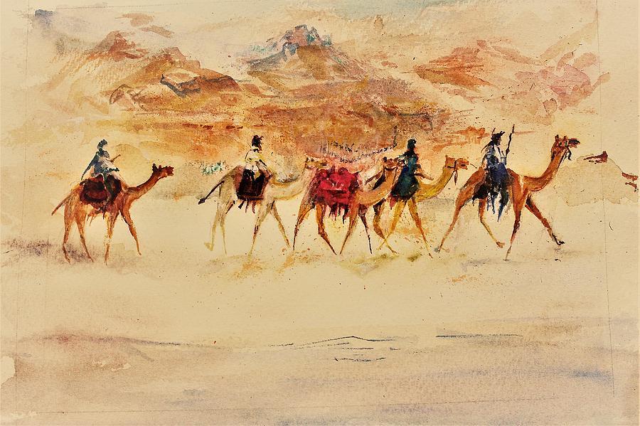 Sandy way by Khalid Saeed
