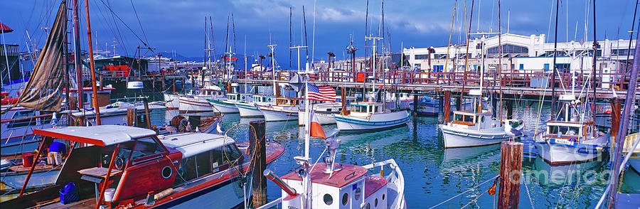 SanFrancisco Fishermans Wharf Pier 45  by Tom Jelen