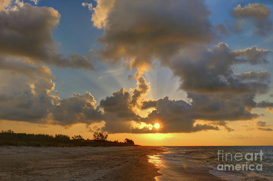 Sanibel Island Sunrays by Jeff Breiman