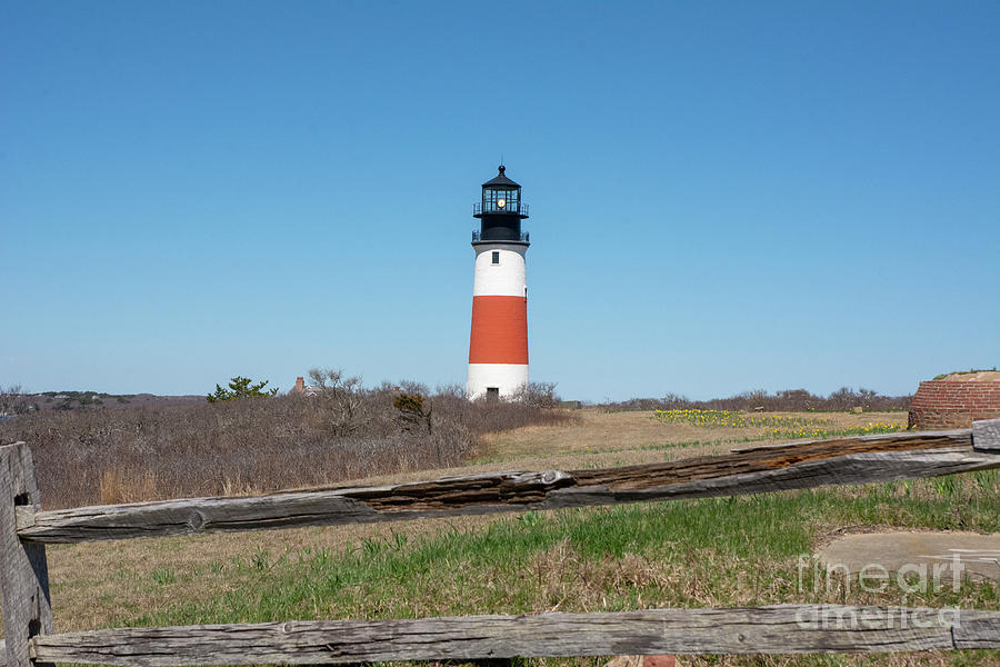 Sankaty Head Light House by Ruth H Curtis