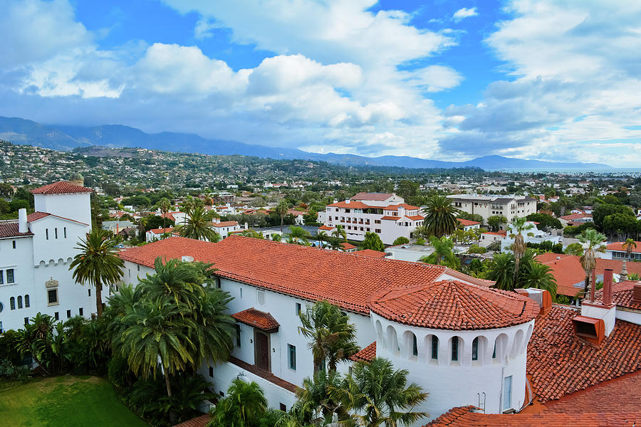 Santa Barbara Courthouse View by Kyle Hanson
