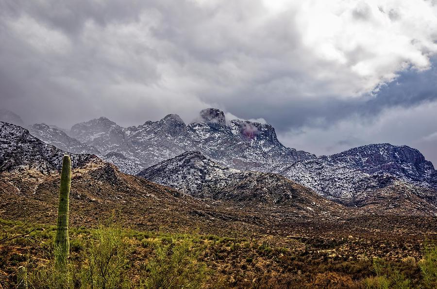 Santa Catalina Winter h1150 by Mark Myhaver