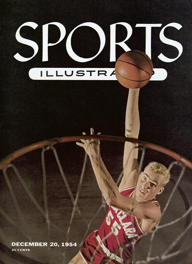 Santa Clara University Ken Sears Sports Illustrated Cover Photograph by Sports Illustrated