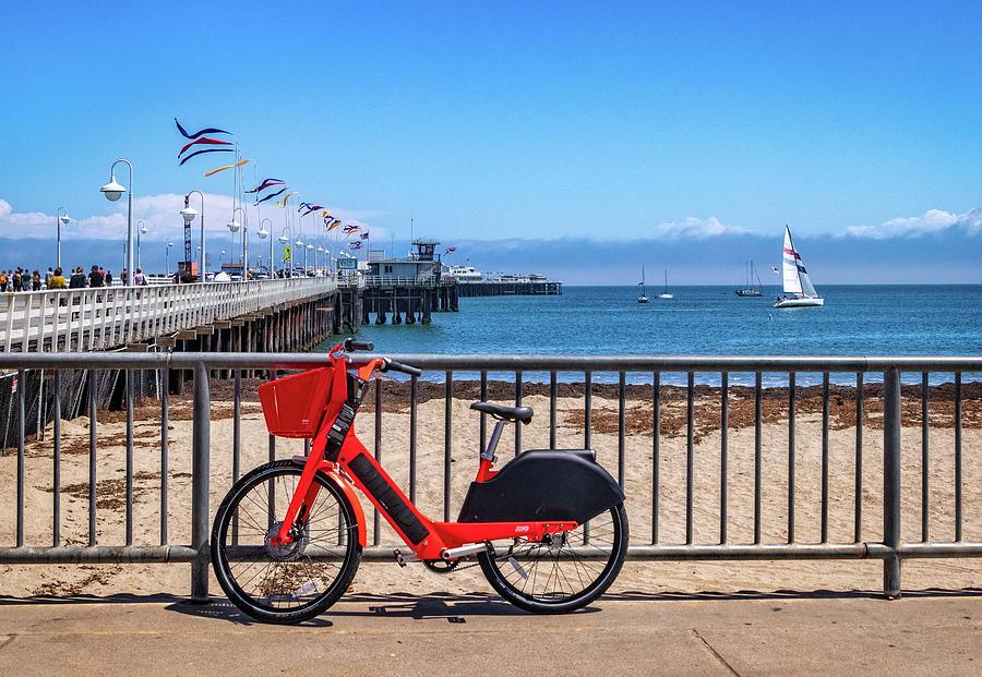 Santa Cruz Wharf by Carolyn Derstine