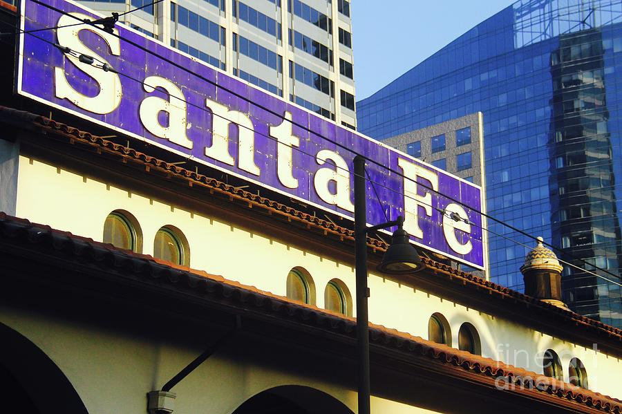 Santa Fe Depot Chrome by Suzanne Oesterling