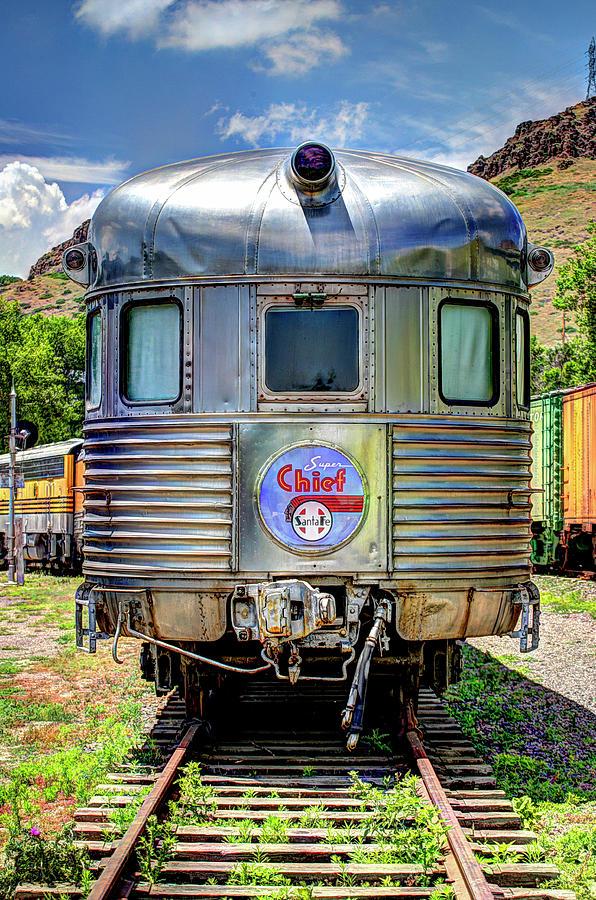 Railroad Photograph - Santa Fe Super Chief by G Wigler