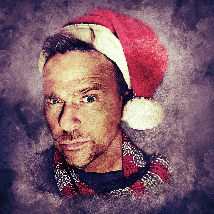 Santa Flanery by Flanery Art Designs