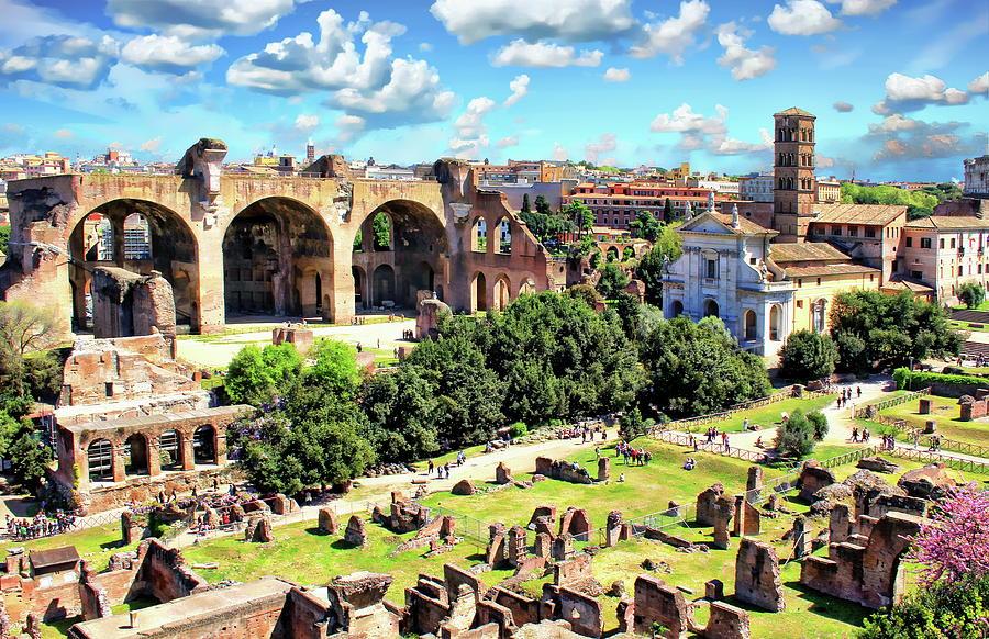 Santa Francesca Romana by Anthony Dezenzio