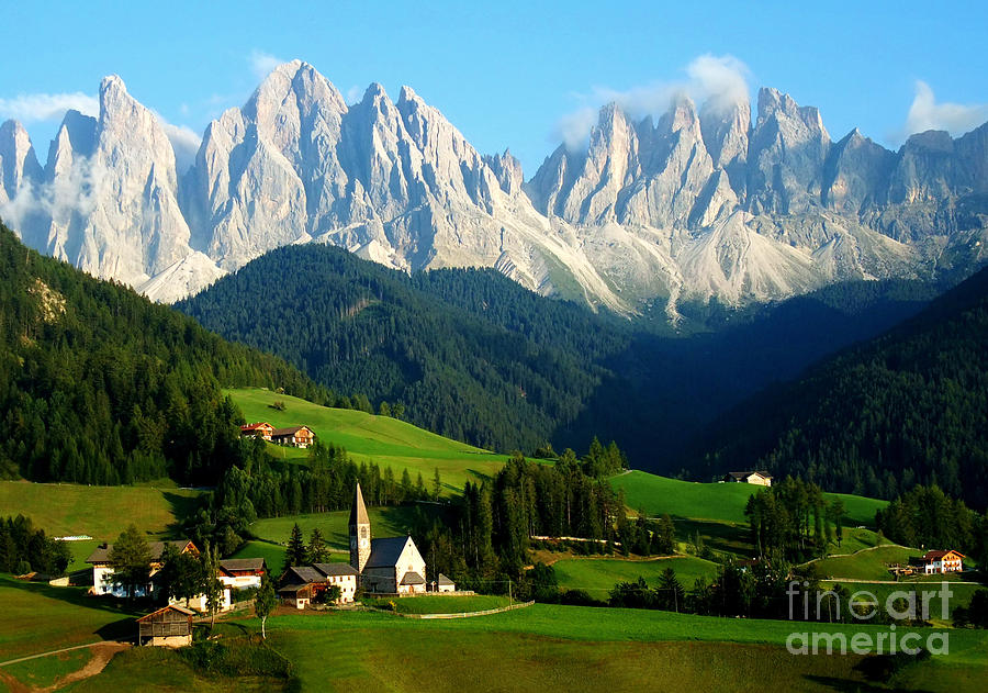Adige Photograph - Santa Maddalenasankta Magdalena And by Matteo Volpone
