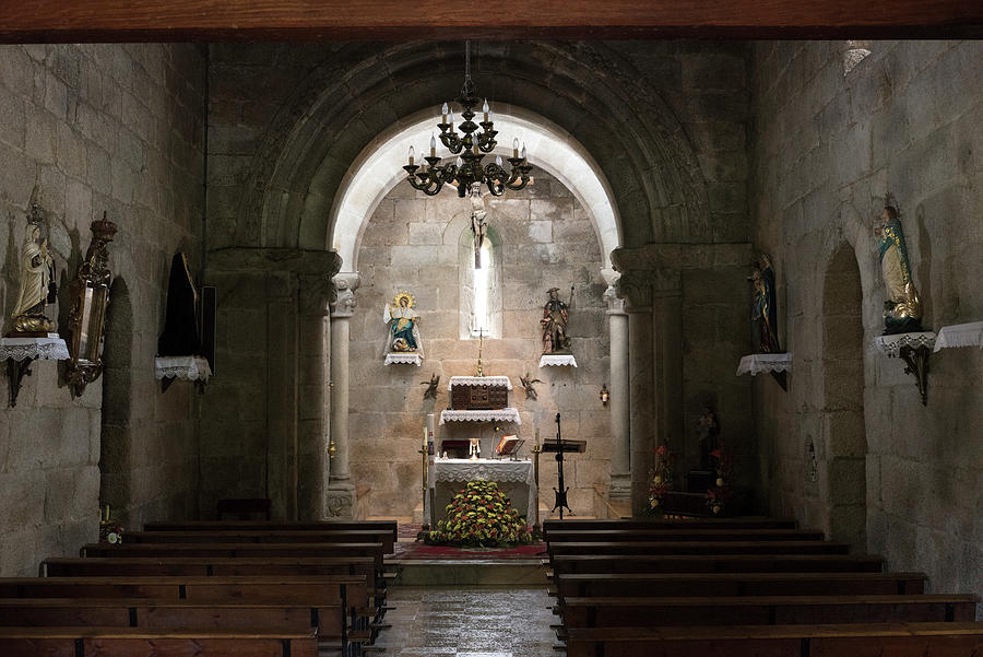 Santa Maria de Xavina church - Interior by RicardMN Photography