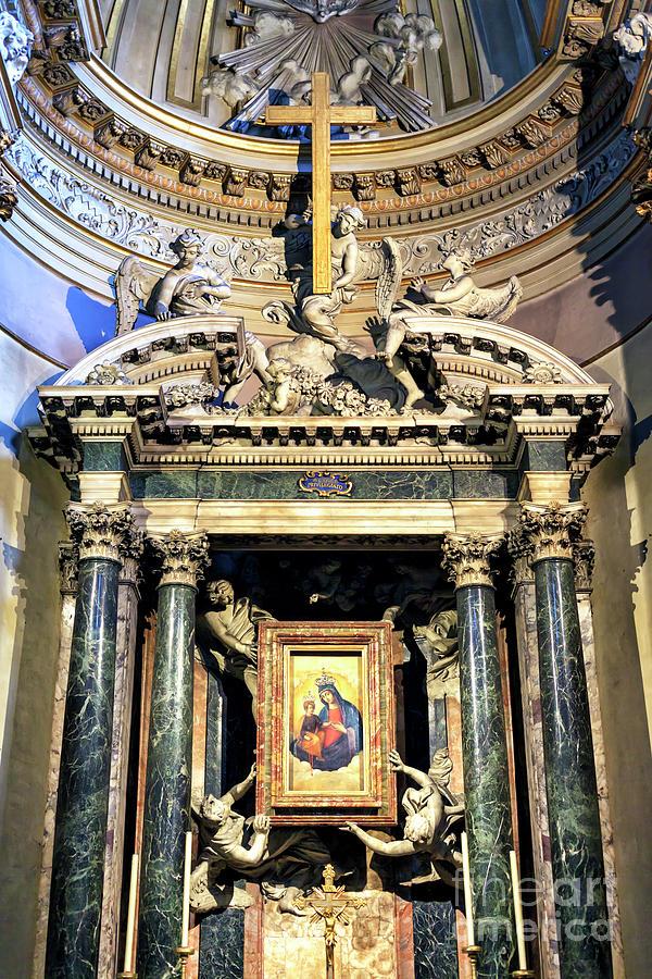Santa Maria dei Miracoli Altar in Rome by John Rizzuto