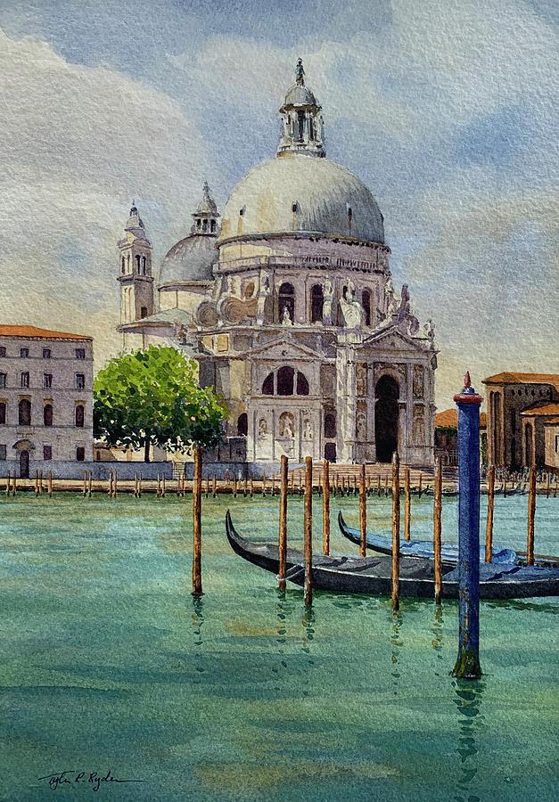 Santa Maria della Salute by Tyler Ryder