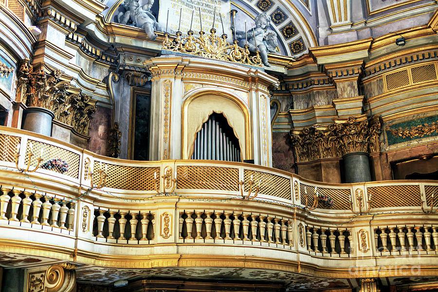 Santa Maria dell'Orazione e Morte Organ in Rome by John Rizzuto