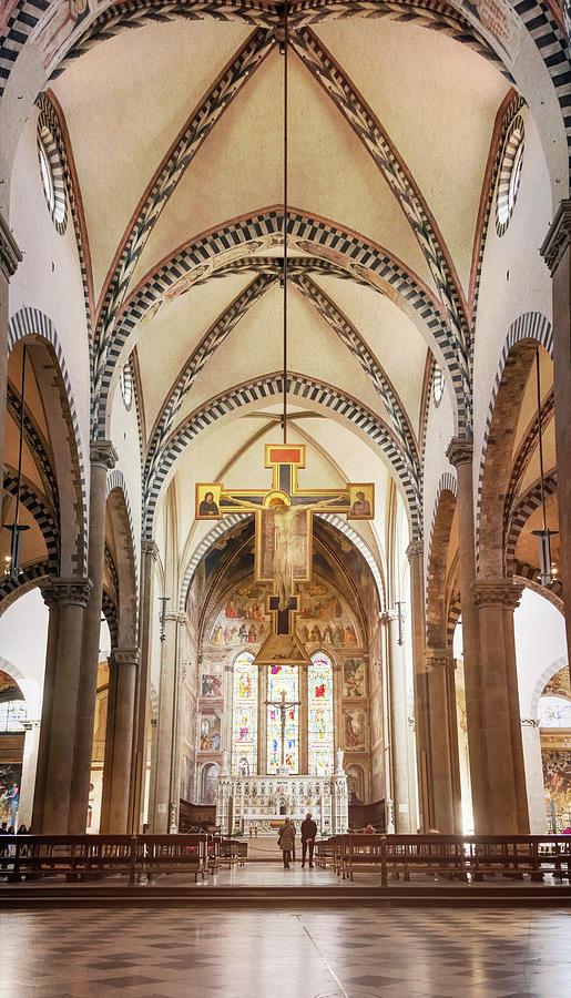 Santa Maria Novella Florence Italy by Joan Carroll