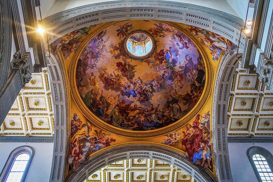 Basilica di San Lorenzo Dome by Robert Blandy Jr