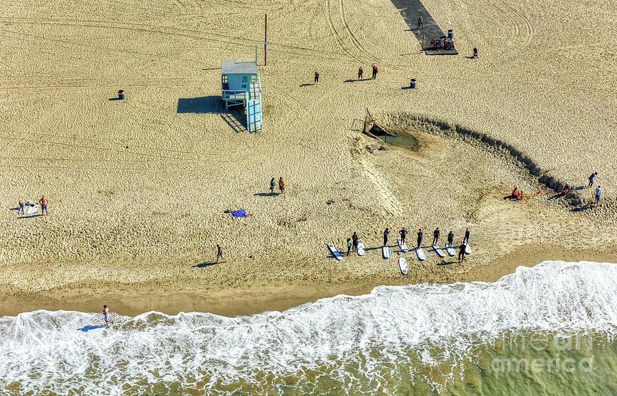 Santa Monica Beach 2 by Mauro Celotti