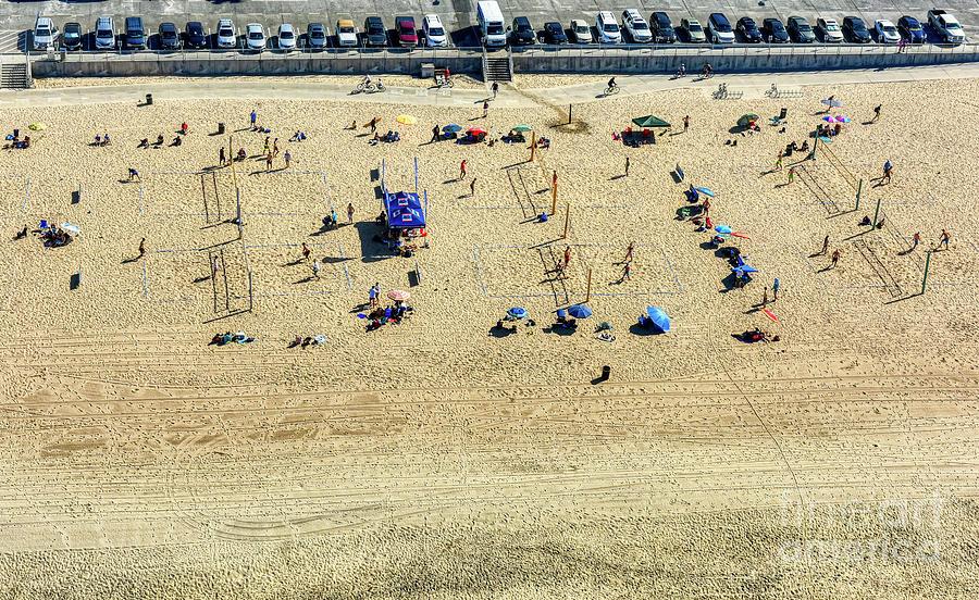 Santa Monica Beach 6 by Mauro Celotti