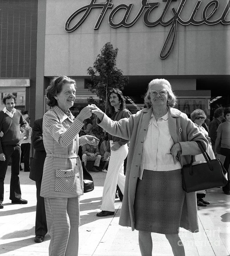 Santa Monica Mall - circa 1974 by Doc Braham