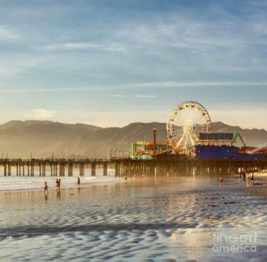 Santa Monica Pier  by EliteBrands Co