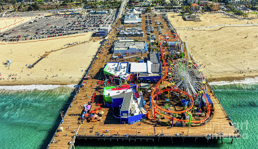 Santa Monica Pier by Mauro Celotti