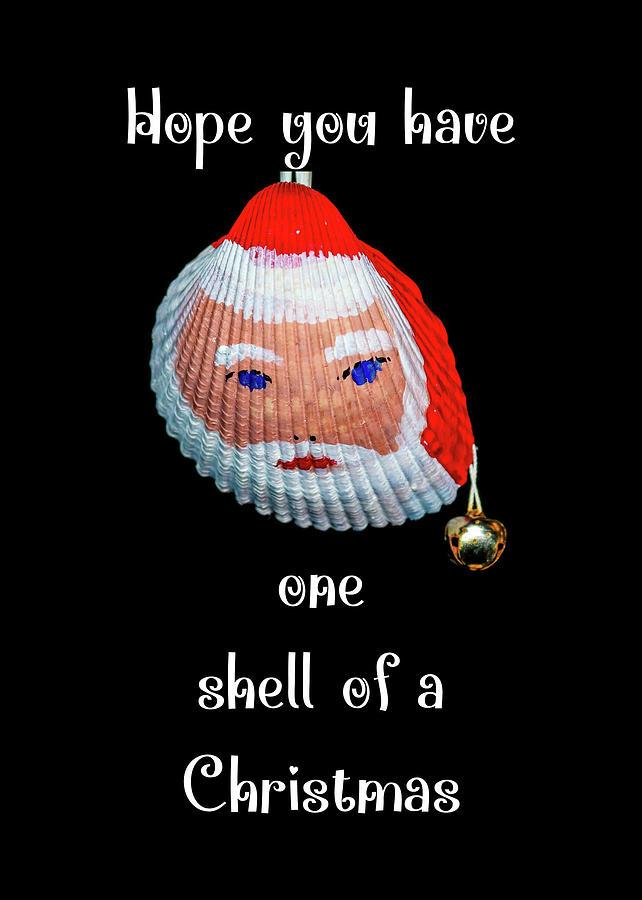 Santa Shell Christmas by Robert Wilder Jr