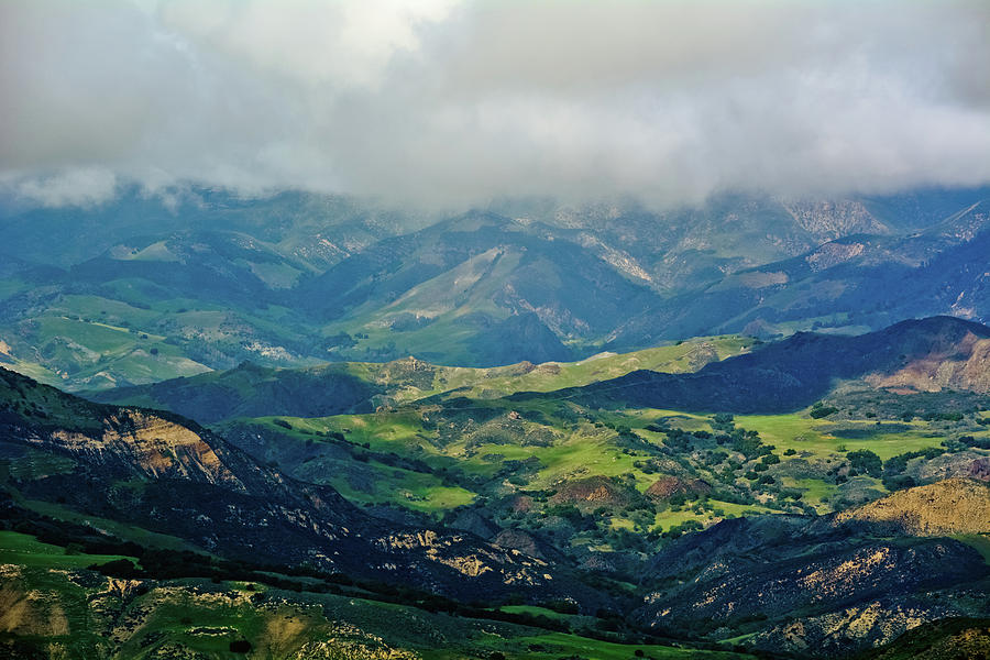 Santa Ynez Mountain Valley by Kyle Hanson