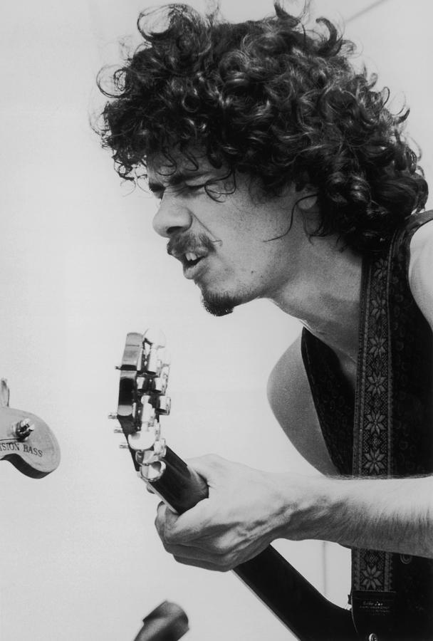Santana At Woodstock Photograph by Hulton Archive