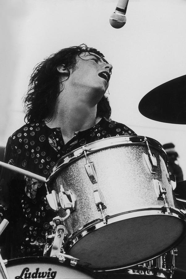 Santana Drummer Photograph by Pictorial Parade