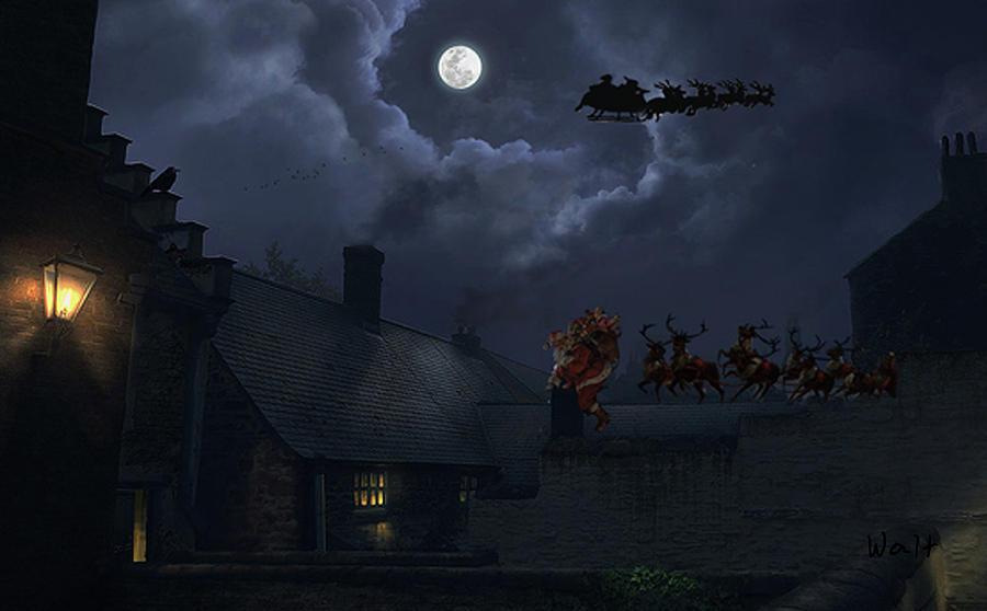 Santas by Walter Chamberlain