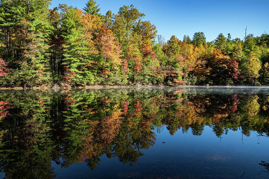 Santeetlah Lake Reflections by Kelly Kennon