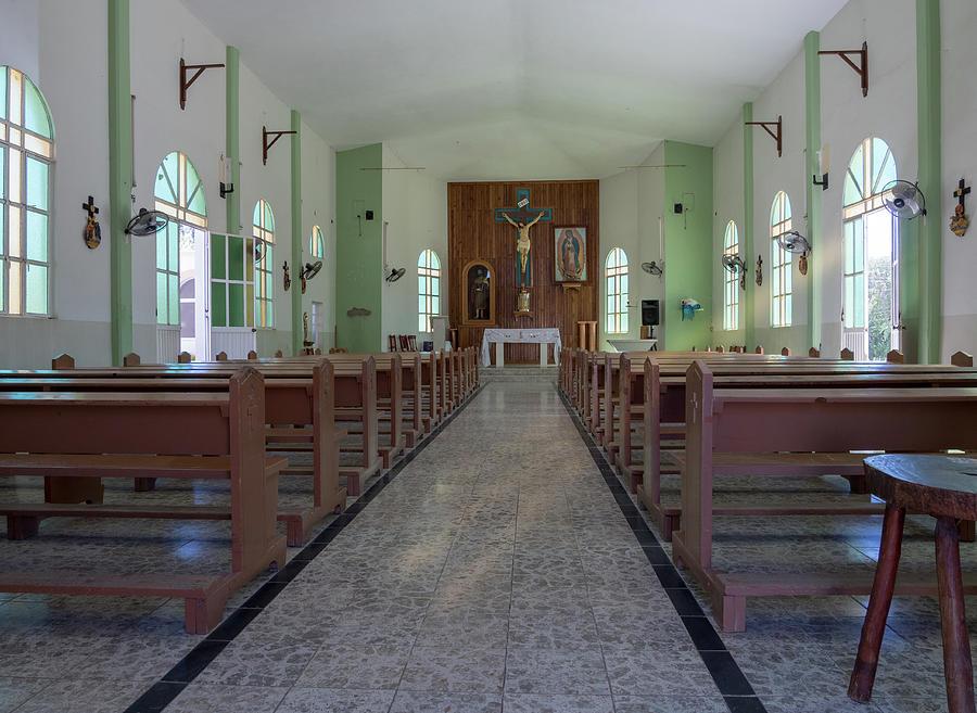 Santiago Mission by Jean Noren
