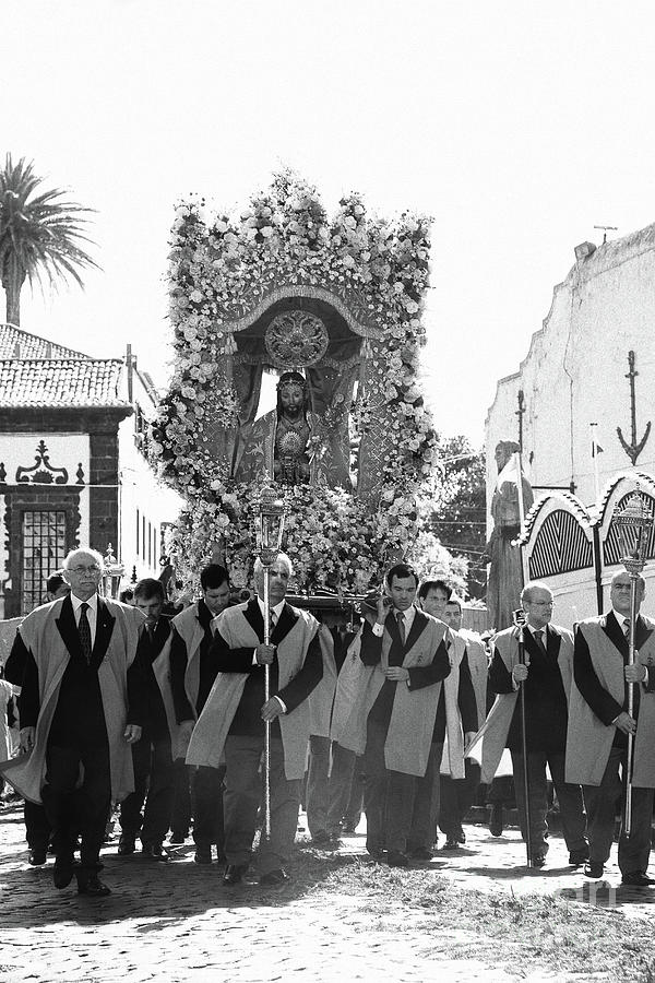 Procession Photograph - Santo Cristo Procession by Gaspar Avila