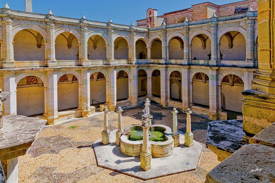 Santo Dimingo De Guzman Courtyard by Jurgen Lorenzen