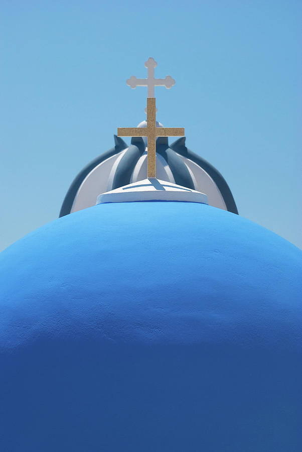 Santorini Church Photograph by Lightshows
