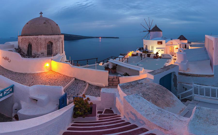 Greece Photograph - Santorini by Evgeni Dinev