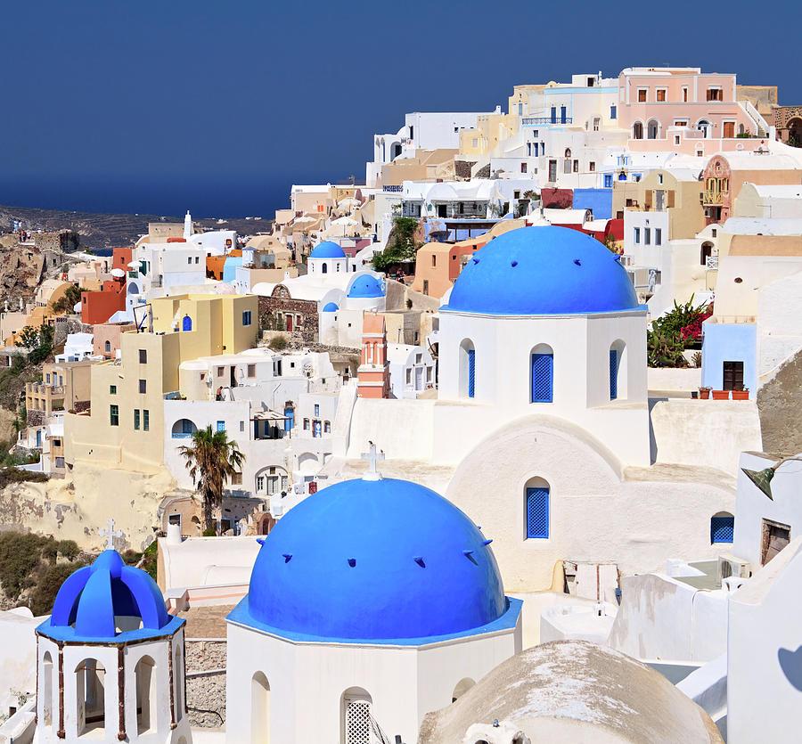 Santorini Photograph by Rusm