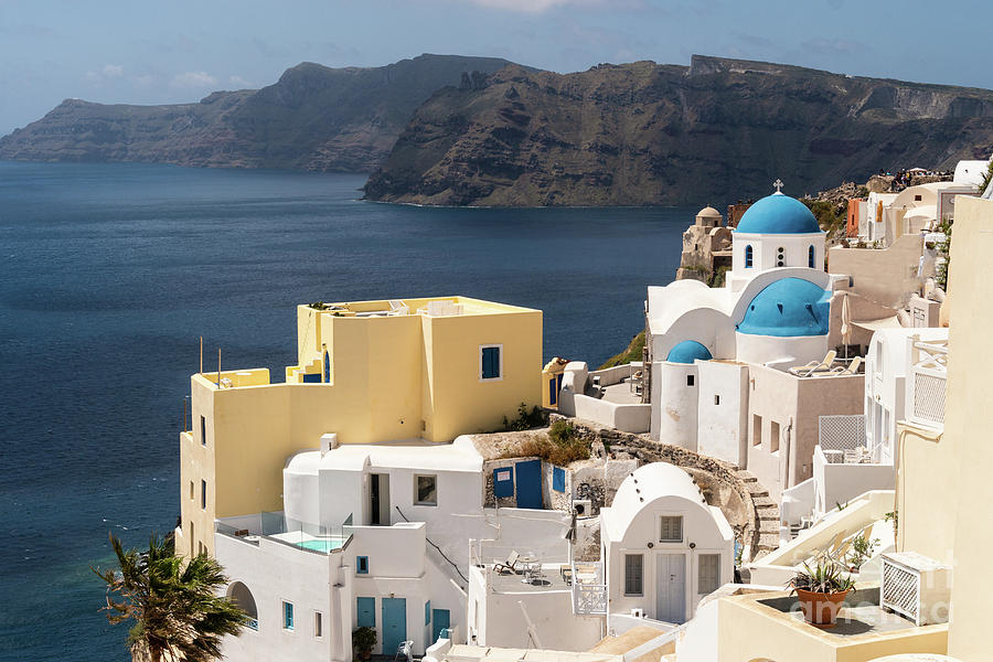 Santorini view in Greece by Didier Marti