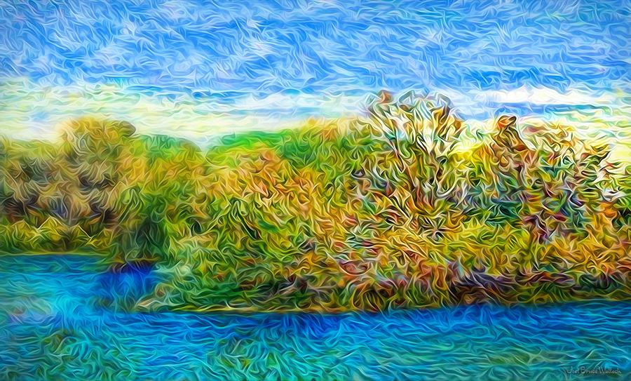 Sapphire Waters by Joel Bruce Wallach