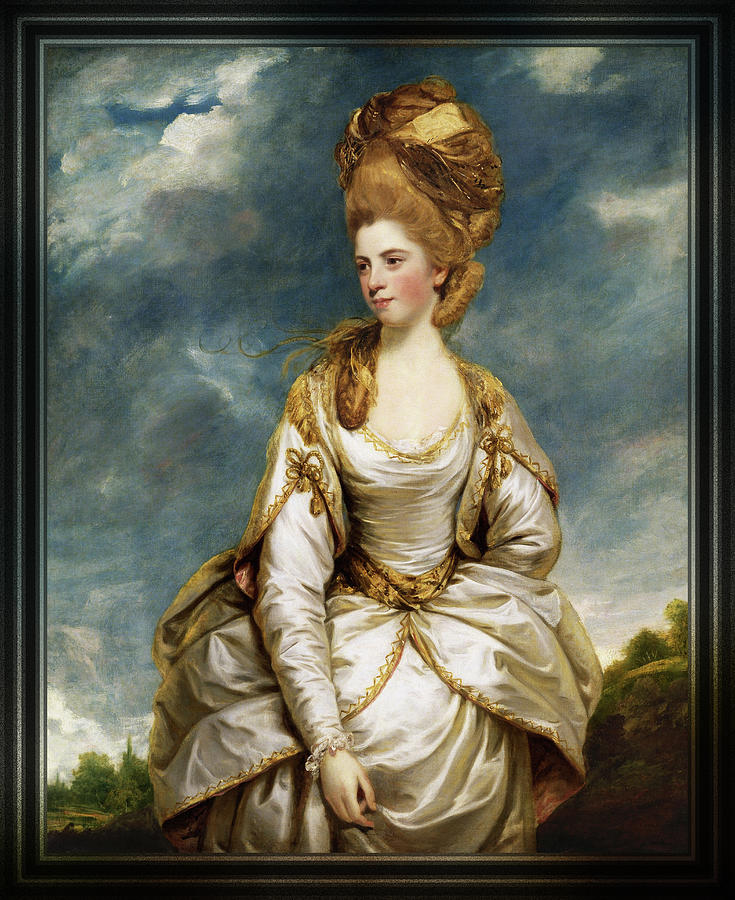 Sarah Campbell By Joshua Reynolds Painting By Xzendor7