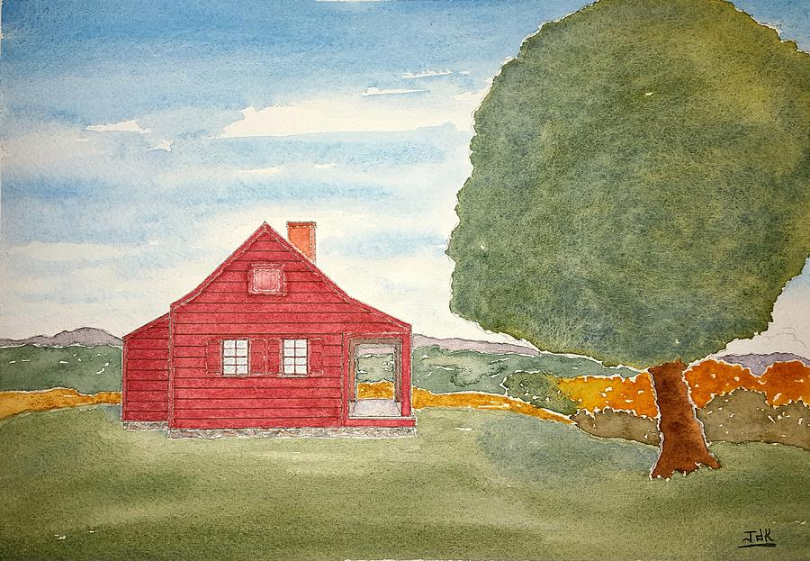 Saratoga Farmhouse Lore by John Klobucher