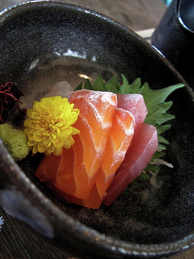 Sashimi For Mi Mi Photograph by Josh Liba