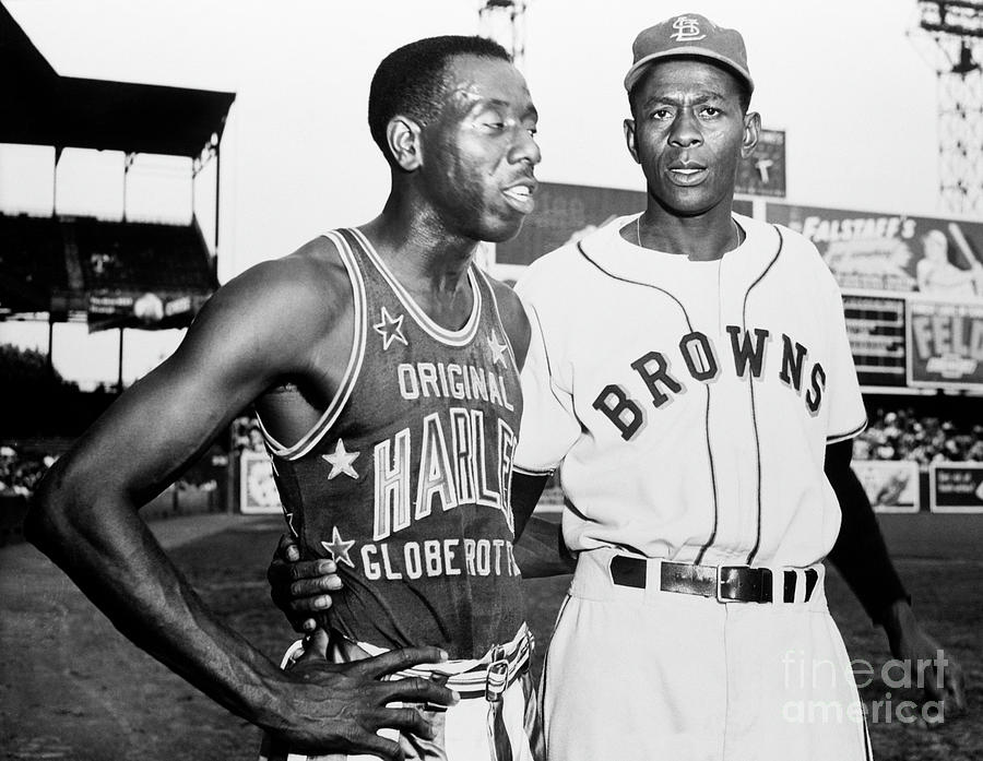 Satchel Paige And Goose Tatum Photograph by The Stanley Weston Archive