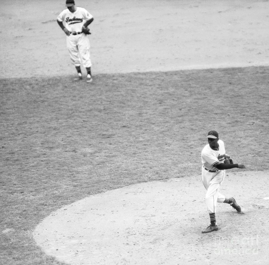 Satchel Paige In The World Series Photograph by Bettmann