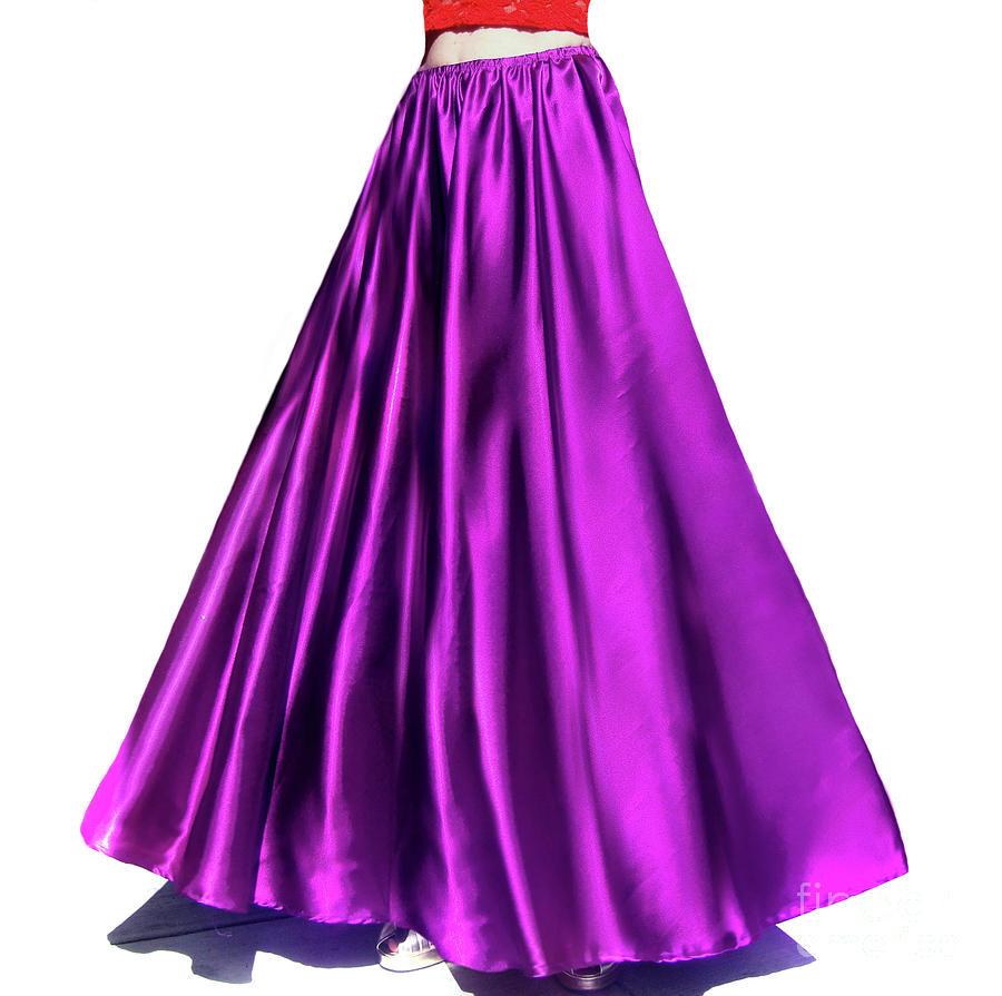 Satin High Low Skirt Ameynra design Asymmetrical Blue Mid-Calf New Sizes S M L