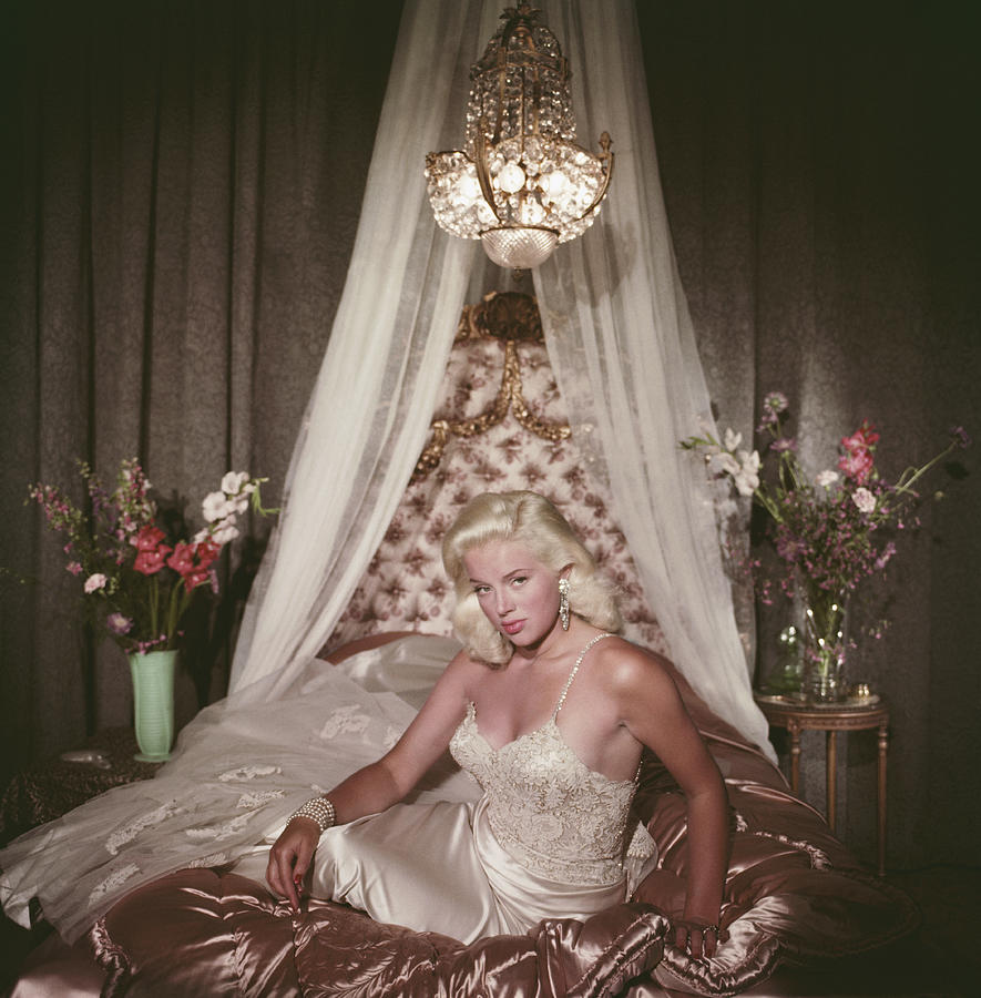 Satin Seduction Photograph by Slim Aarons