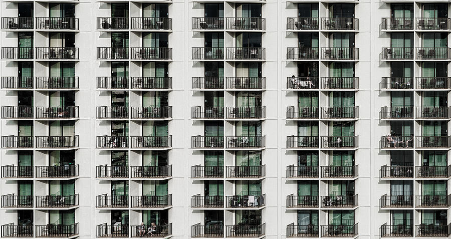 Balcony Photograph - Saturday Afternoon by Andreas Agazzi