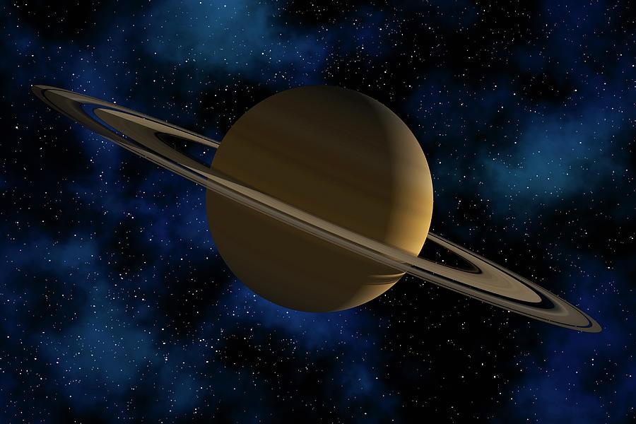 Saturn Planet Photograph by Antonio M. Rosario