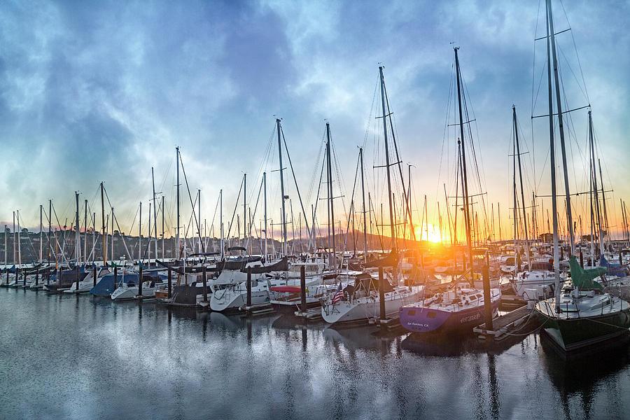 Sausalito Photograph - Sausalito California Morning Airs by Betsy Knapp