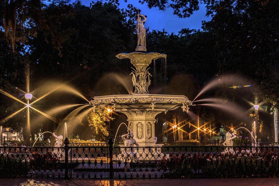 Savannah Fountain by Dorothy Cunningham